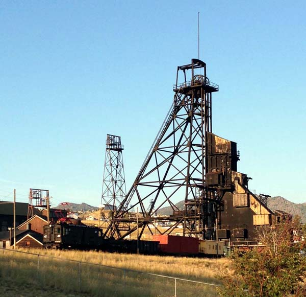 Anselmo Mine Headframe, Butte, Montana