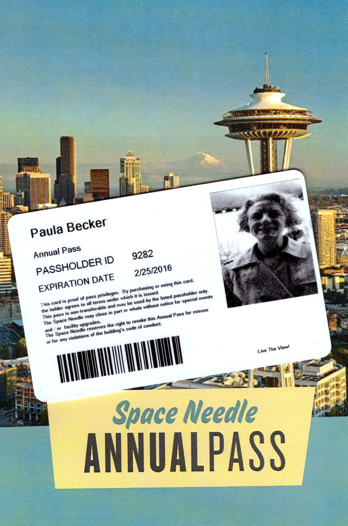See you at the Space Needle!