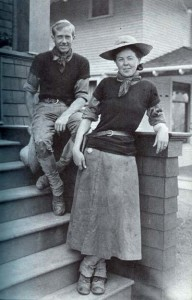 Quincy Scott and Ella Allen Scott, Seattle, August 22, 1907