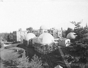Harvard College Observatory, where Darsie Bard worked his way through college.