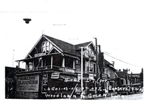 6501 Roosevelt Way NE, Seattle, ca. 1938.