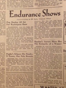 The Billboard's dance marathon coverage, June 25, 1938.